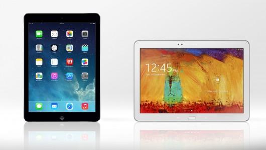 iPad Air vs Galaxy Note