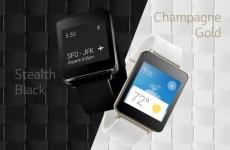 LG G Watch barvy