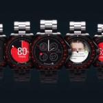 Koncept chytrých hodinek Rolex