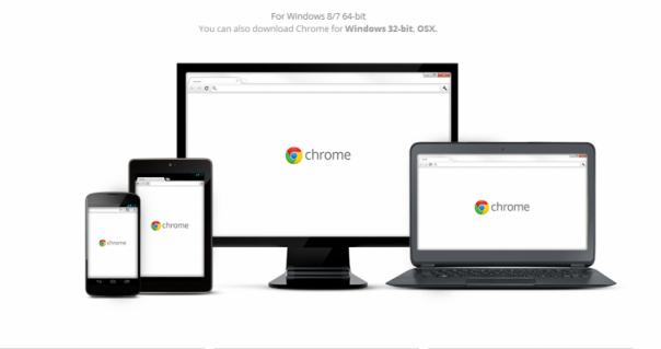 Chrome Browser 64-bit
