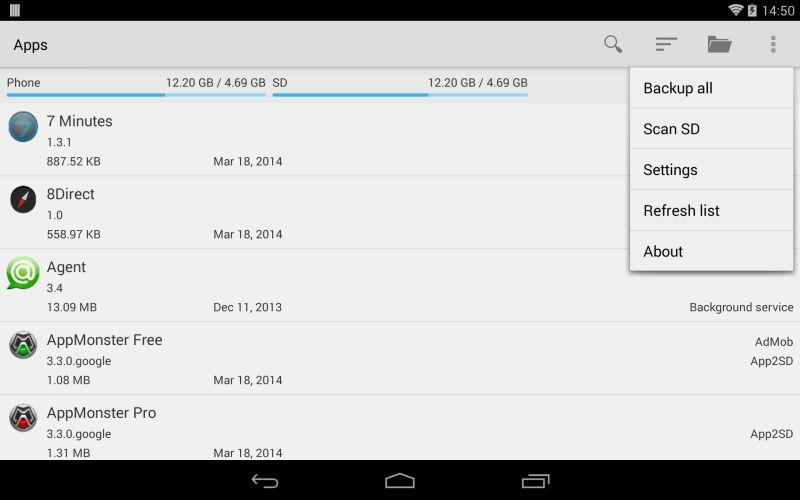 AppMonster Pro Backup Restore 1