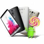 Lollipop pro LG G3 už na začátku prosince