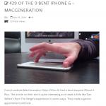Apple má problém – Ohnutých iPhone 6 je více než 9
