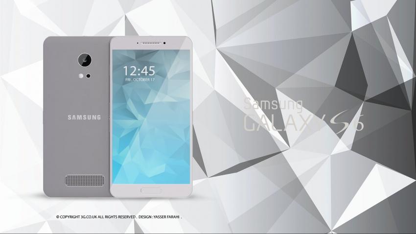 Samsung Galaxy S6 design koncept1