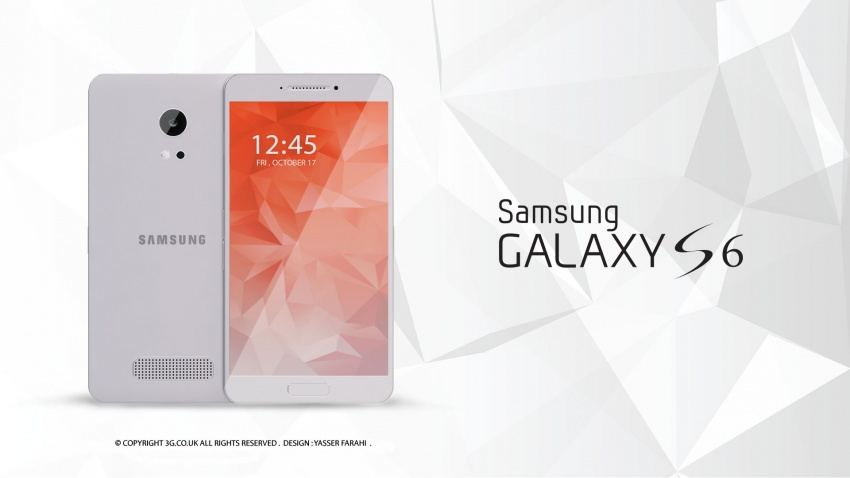 Samsung Galaxy S6 design koncept2