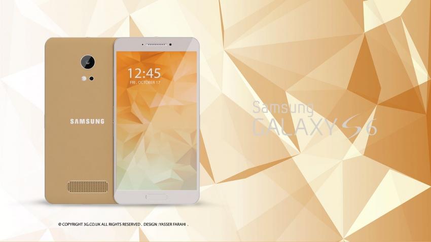 Samsung Galaxy S6 design koncept3