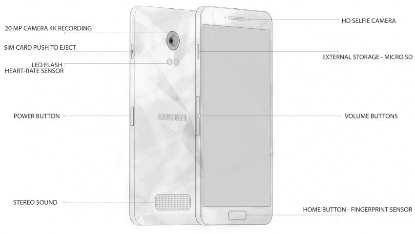 Samsung Galaxy S6 design koncept6