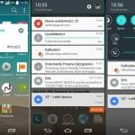 Unikly první screenshoty chystané aktualizace Androidu Lollipop pro LG G3