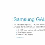 Gorilla Glass 4 jako první získají Samsung Galaxy Alfa a Note 4