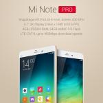 Xiaomi Mi Note Pro – nabušený telefon s 2K displejem