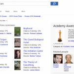 Microsoft tipoval opět správně a předpověděl 20 z 24 vítězů Oscarů