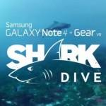 Samsung nechává skrze Gear VR plavat lidi se žralokem