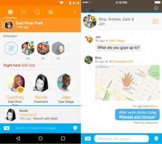 Swarm-by-Foursquare-Messages