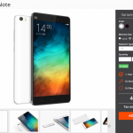 Xiaomi Mi Note je skladem v Evropě