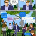 Humor: Přehnané používání chytrých telefonů