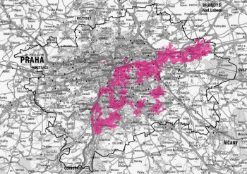 Současný stav LTE-A v Praze