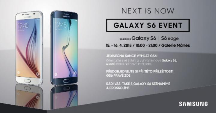 Galaxy S6 event