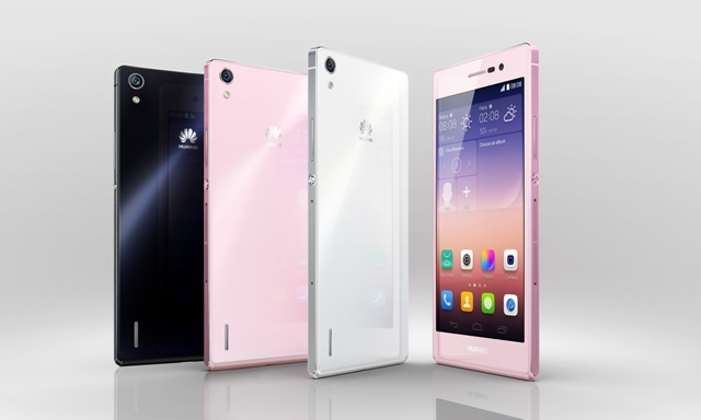 Huawei P7 group