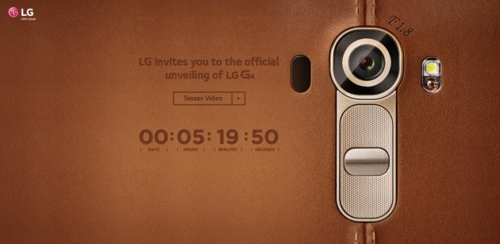 LG predstaveni G4