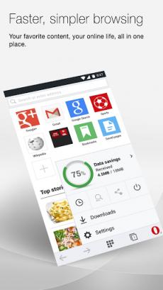 Opera Mini beta web browser