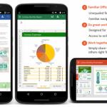 Vyzkoušejte si aplikace Microsoft Word, Excel a Powerpoint pro smartphony