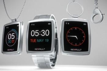 Ukázka vzhledu hodinek