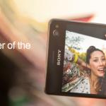 Sony dnes představilo Xperii C4 nový selfie smartphone