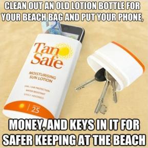 Můžete si takto schovat i klíče či peníze.