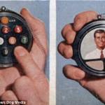 Návrh chytrých hodinek starý 59 let