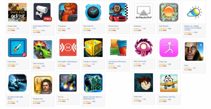 Amazon hry aplikace zdarma