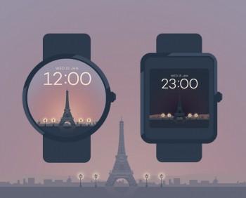 Paris watchface