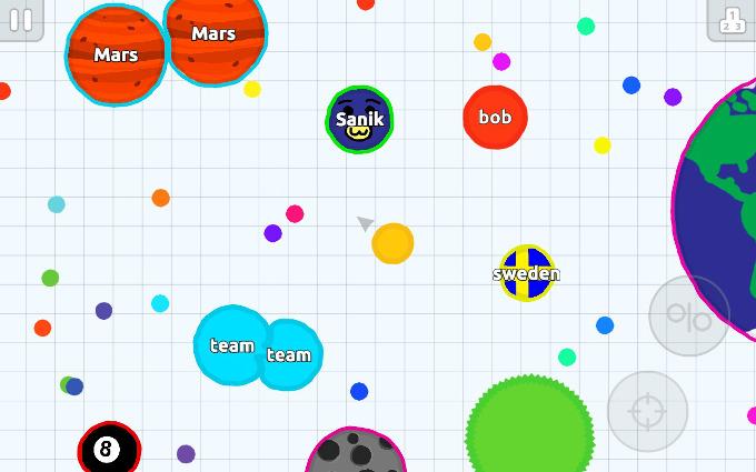 Ukázka Android verze hry.