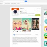 Webová verze Google Play přináší nový výpis jednotlivých aplikací a her
