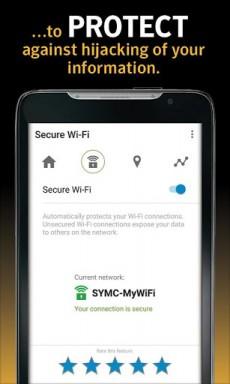 Norton WiFi Security VPN1