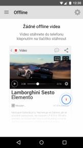 ukázka z aplikace