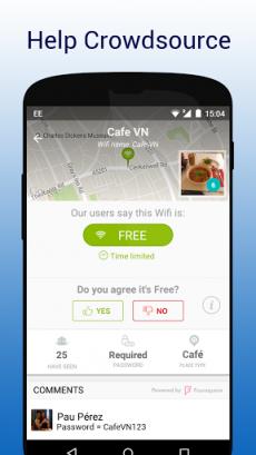 WifiMapper - Free Wifi Map2