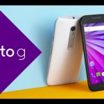 Motorola Moto G (3. generace) oficiálně