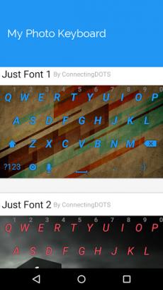 My Photo Keyboard2