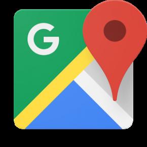 Nové logo aplikace Mapy Google