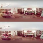 Pokud nemáte na svátky žádné plány, můžete se virtuálně podívat do vánočně vyzdobeného Bílého domu. (video)