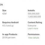 Aplikace Dropbox pro Android překročila půl miliardy stažení