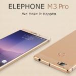 Elephone oficiálně představil dva nové smartphony s názvy M3 a S3