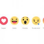 """Revoluce na Facebooku: Nové """"To se mi líbí"""" emoji ikonky"""