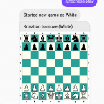 Zahrajte si šachy na Facebook Messengeru