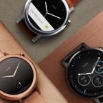 Motorola brzy vypustí aktualizaci pro druhou generaci hodinek Moto360!