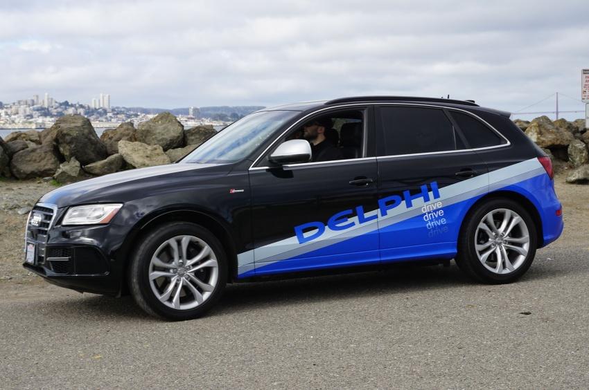 Audi-SQ5-automated-by-Delphi-left-profile