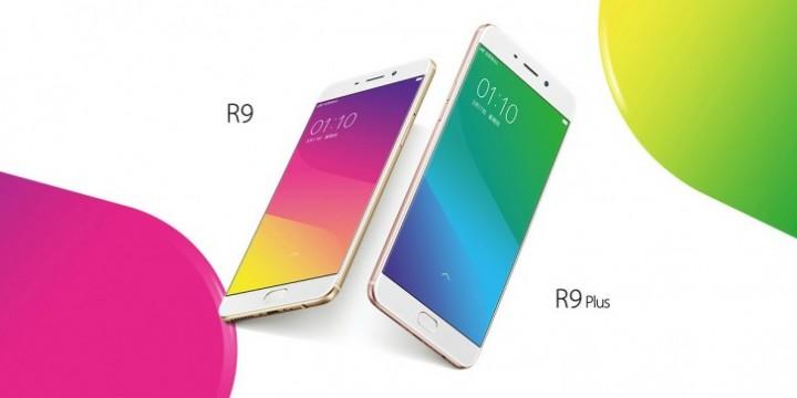 Oppo R9 a R9 Plus