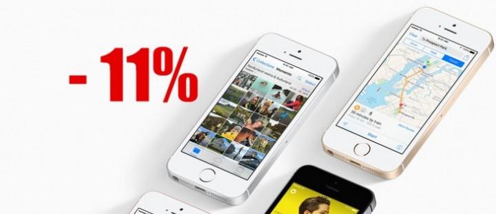 iphone 11%