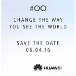 Nové oznámení nám prozrazuje, že Huawei P9 bude představen 6. dubna