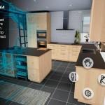 Aplikace IKEA VR Experience pro HTC Vive umožňuje vyzkoušení kuchyně, než si jí koupíte!